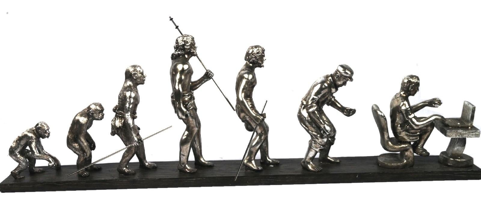 Evolution & Devolution Of Man 22cm