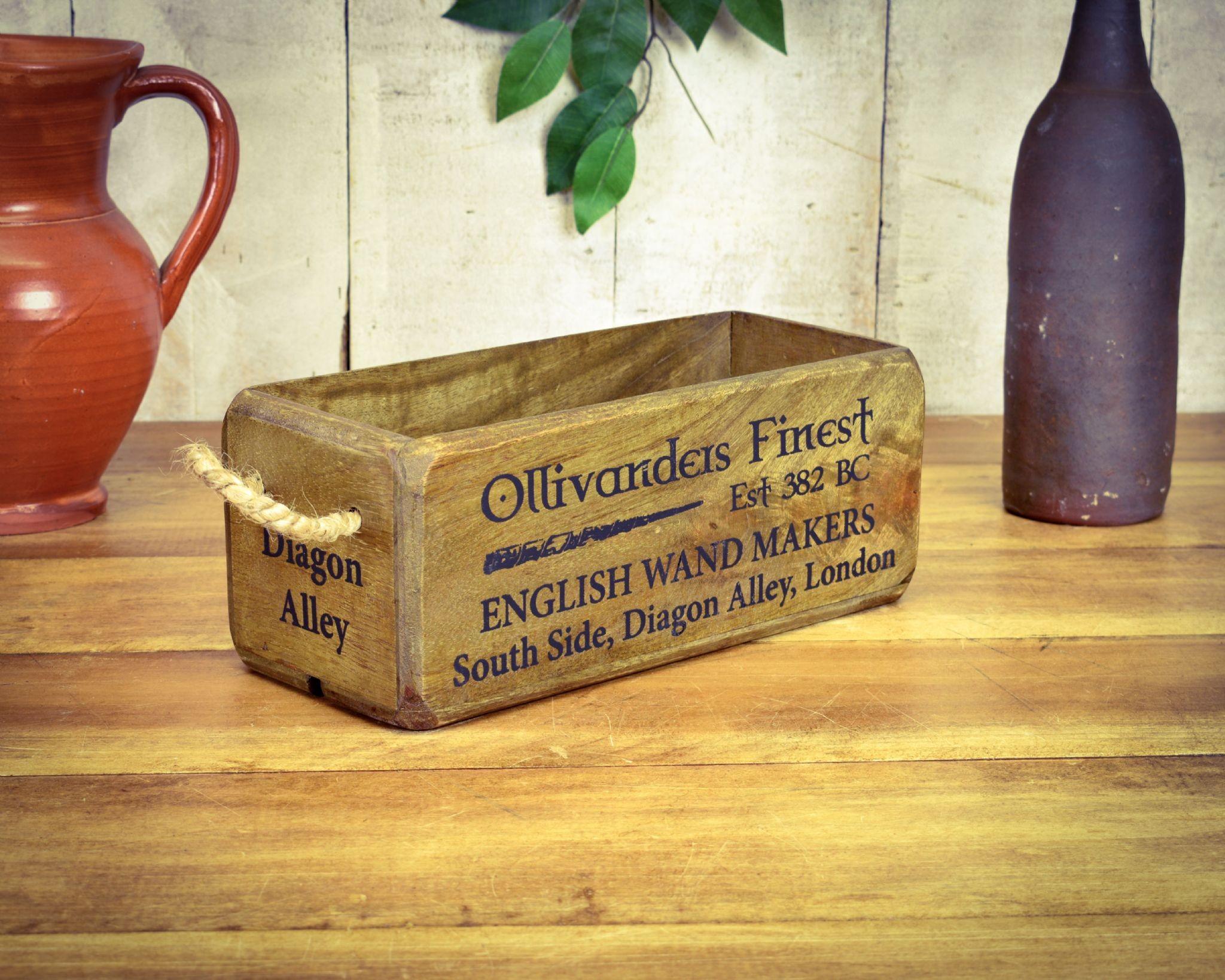 Vintage Box Small, Ollivander Wand Shop