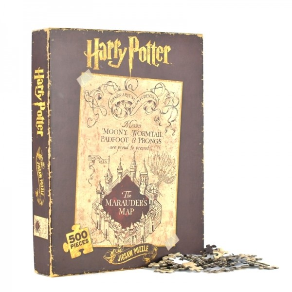 Harry Potter Marauders Map 1000 Piece Jigsaw Puzzle