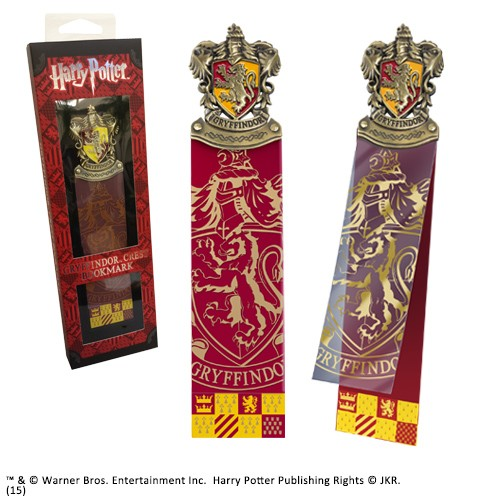 Gryffindor Crest Bookmark