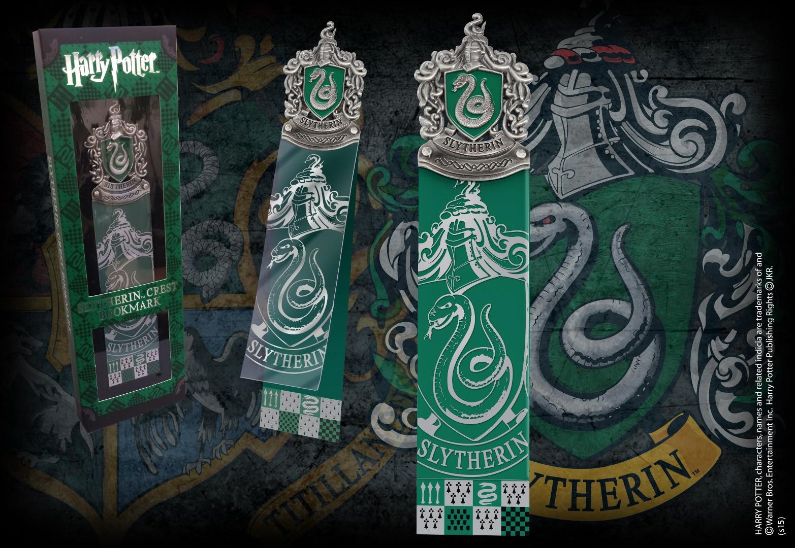 Slytherin Crest Bookmark