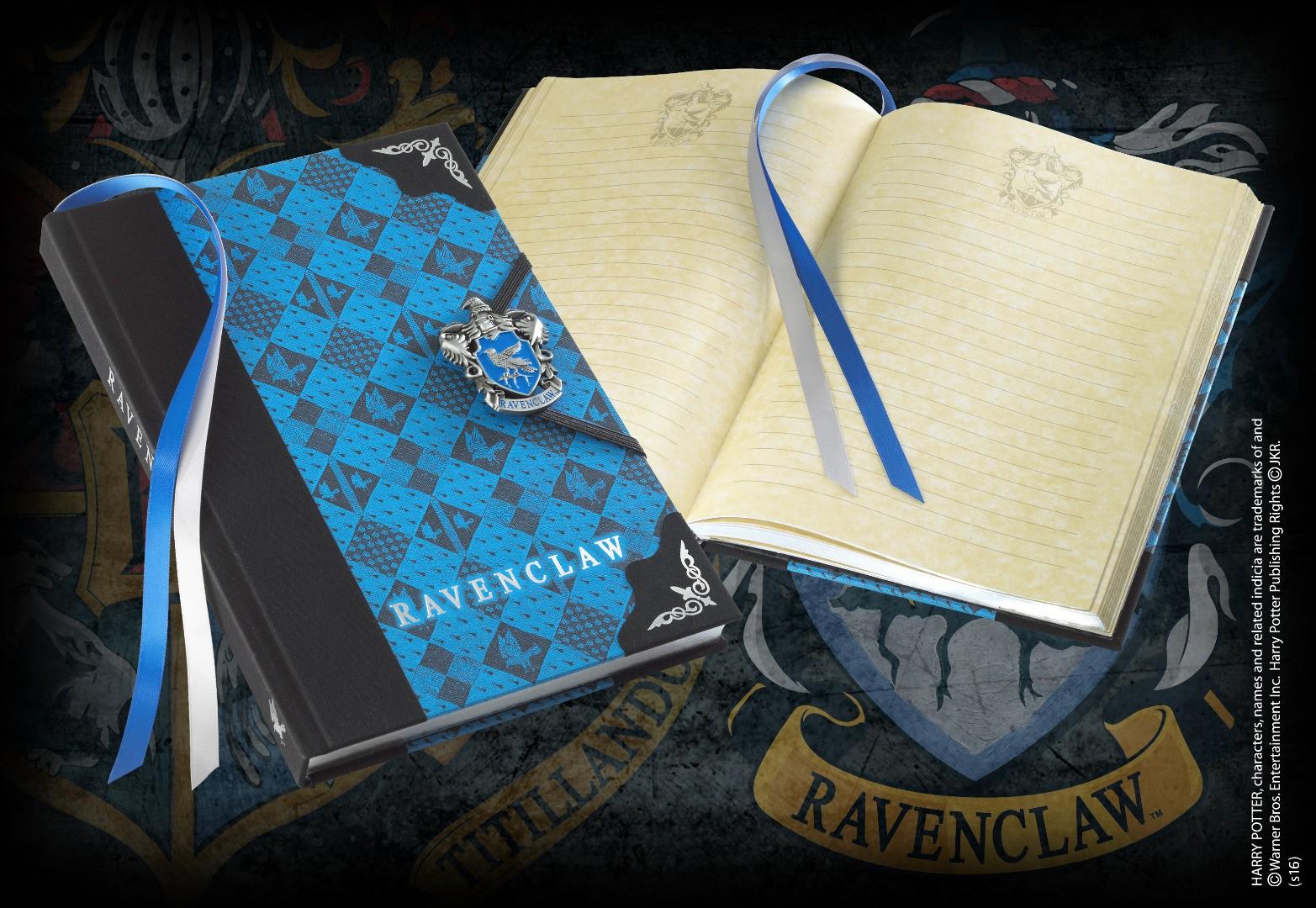 Ravenclaw Journal W/Enamel Metal Clasp