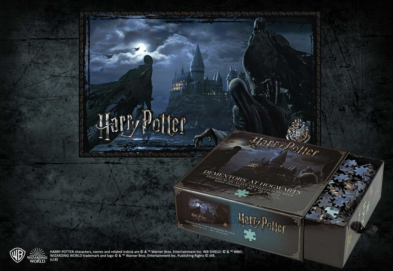 Dementors at Hogwarts 1000pc Jigsaw Puzzle