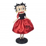 Betty Boop In 50's Costume **With Fabric Clothes** 30.5cm