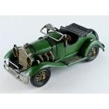 Vintage Green Car Model