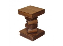 Acacia Lisbon Book Lamp Table - 53cm