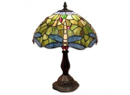Dragonfly Tiffany Table Lamp + Free Bulb (Medium)