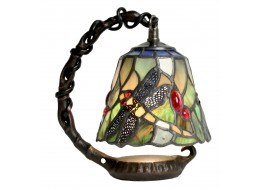 Dragonfly Hanging Shade Design Tiffany Lamp + Free Bulb