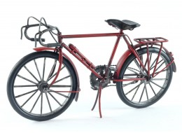 Red Frame Racing Bicycle