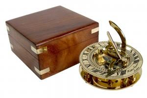 Sundial with Sheesham Display Box