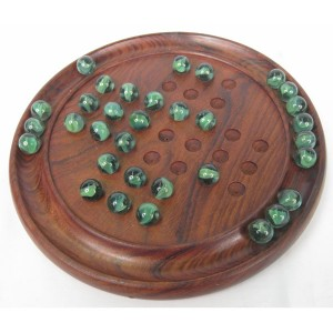 Solitaire Game Glass Marbles