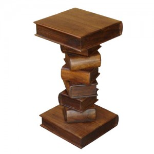 Acacia Lisbon Book Lamp Table - 70cm