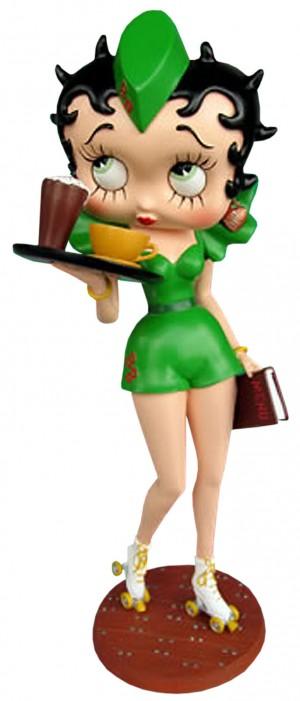 Betty Boop Rollerskate Waitress (Green)