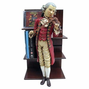 Mozart CD/DVD Holder