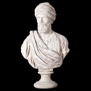 Sheikh Bust Roman - Roman Stone Finish