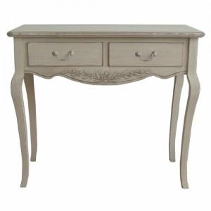 Paris Antique Cream French Style Desk/Dressing Table