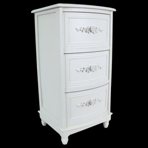 White Chest of 3 Drawers