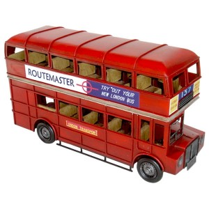 Vintage Red Double Decker Bus