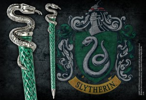 Slytherin Pen Silver Plated