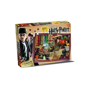 Harry Potter Hogwarts 1000 Piece Jigsaw Puzzle