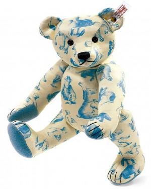 Steiff - Signature Teddy Bear Blue 30cm Limited Edition