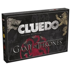 Cluedo Game Of Thrones Board Game