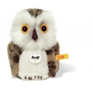 Steiff Wittie Owl Grey Brindled 12