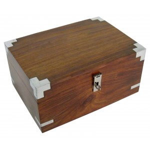 Sheesham Wood Stationary Box
