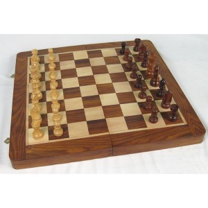 Folding Chess Set (41 x 41cm)