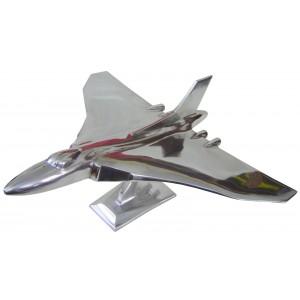 Aluminium Vulcan Jet Aeroplane 43cm