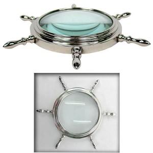 Ship Wheel Magnifying Glass