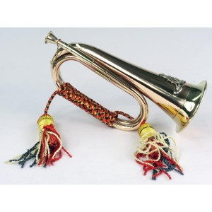 Copper Bugle Military Replica