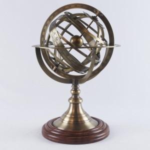 Armillary Globe Dia 19cm