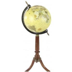 55cm Globe On Wooden Stand - Dia 20cm