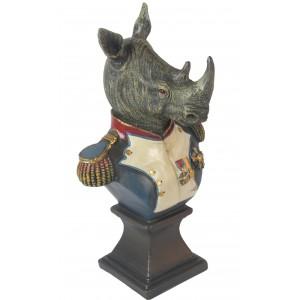 Small Rhino Bust