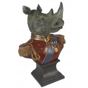Large Rhino Bust