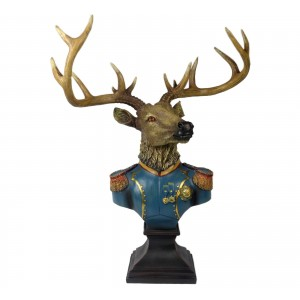 Large Stag Bust