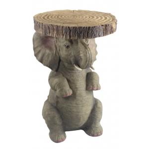 Asian Elephant Table - 50.5cm