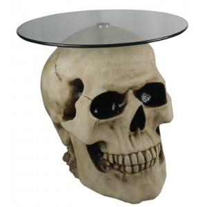 Skull Table Glass Top 56.5cm