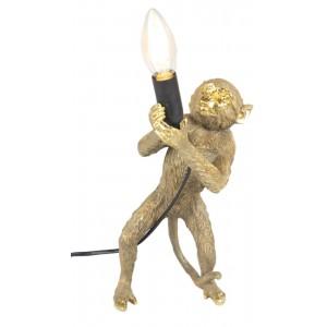 Gold Monkey Lamp + Free Bulb 30cm