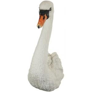 White Swan Head Wall Art 57.5cm