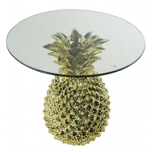 Pineapple Table Glass Top 54.5cm
