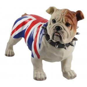 Bulldog (Union Jack) Standing 54.5cm