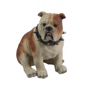 Bulldog Sitting 22cm