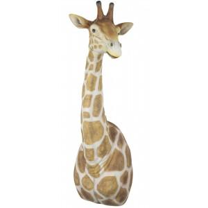 Giraffe Head & Neck Wall Art 61cm