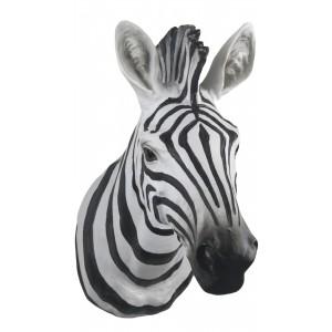 Zebra Head Wall Art 46cm