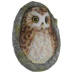 Owl Wall Plaque 21.5cm