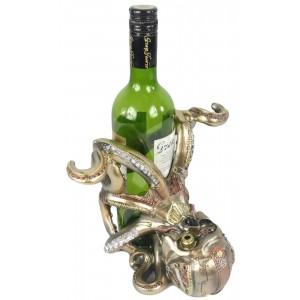 Steampunk Mechanical Octopus Wine Holder 20.5cm