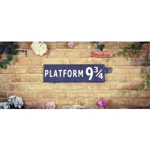Platform 9 3/4 Kings Cross Sign