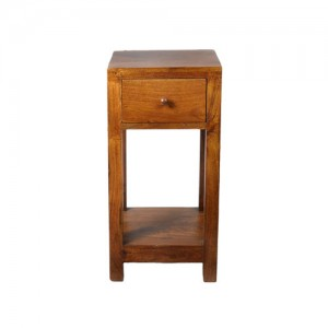 Acacia Plant,Telephone & Side Table (Small)